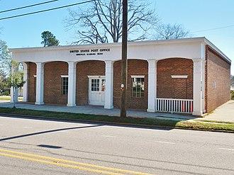 Abbeville, Alabama - Image: Abbeville, Alabama Post Office