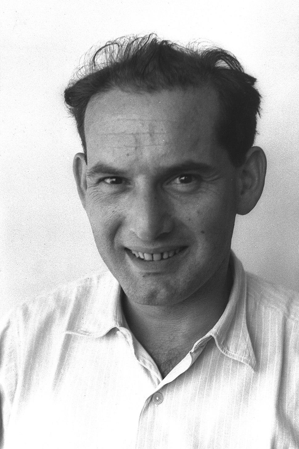 אברהם הרמן בשנת 1950, עת שימש כקונסול כללי של ישראל בקנדה