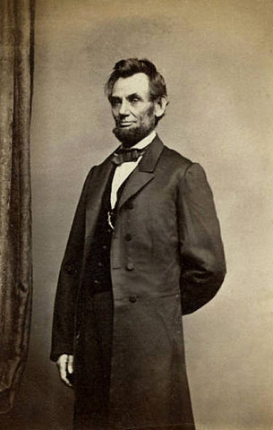 Авраам Линкольн 8 января 1864 года.