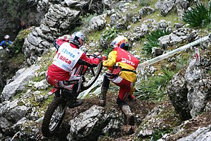 Adam Raga at Trial Spanish GP 2007