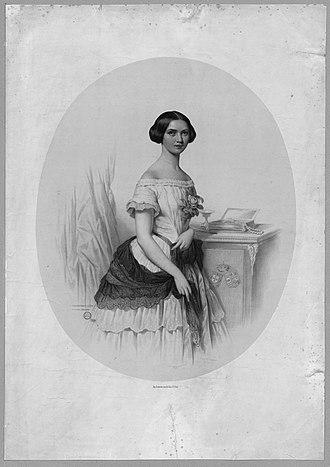 Adelaide of Löwenstein-Wertheim-Rosenberg - A young Adelaide.