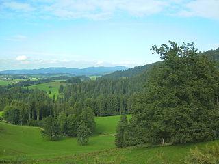 Adelegg mountain range