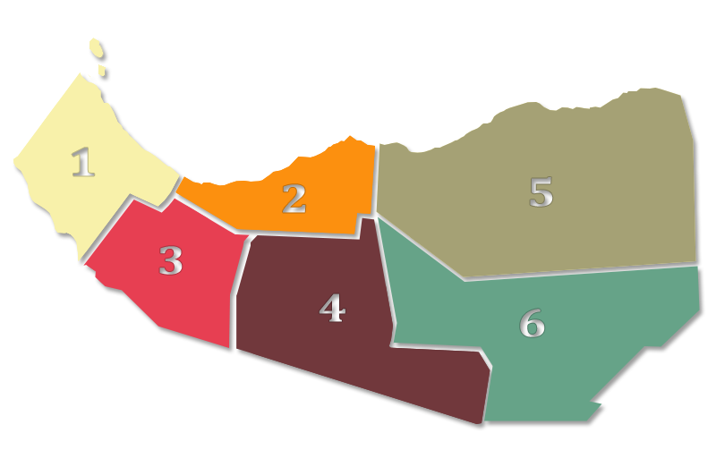 Administrative Regions of Somaliland
