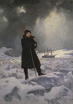 Adolf Erik Nordenskiöld målad av Georg von Rosen 1886
