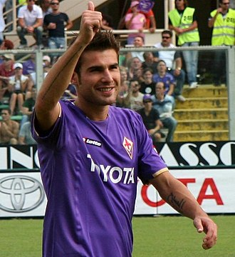 FC Argeș Pitești - Adrian Mutu, one of the most valuable young exponents of the FC Argeș academy.