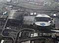 Aerial view of Qwest Stadium and Safeco Field in Seattle.jpg