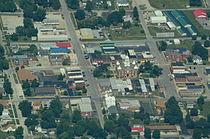 Aerial view of Savannah, Missouri 9-2-2013.JPG