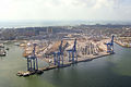 Aerial view of the Port of Galveston September 22 2008.jpg
