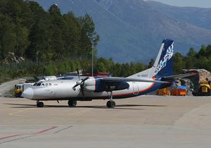 Nordavia - An Aeroflot-Nord Antonov-24RV.
