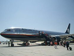 Aeromexico Boeing 767-300ER at Los Cabos International Airport.jpg