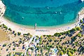 Agioi Anargyri Beach on Spetses island, Greece, a view from above (48759923063).jpg