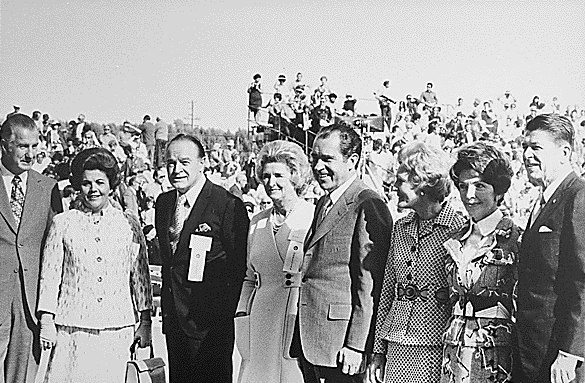 Agnews, Hopes, Nixons, Reagans 1971