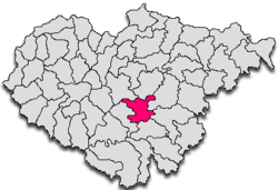 Commune Agrij in Sălaj County