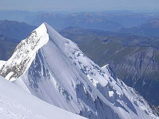 mountain in the Mont-Blanc massif in the Alps