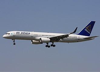 Air Astana - Air Astana Boeing 757-200