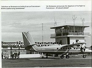 Air Botswana - Air Botswana BNB 6382 in year 1981
