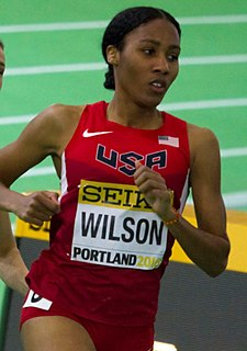 Ajeé Wilson American middle-distance runner