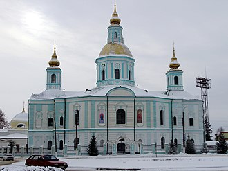 Okhtyrka - The Cathedral of the Theotokos (1753-68)