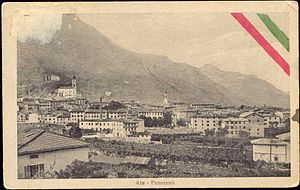 Ala, Trentino - Ala in the year 1910