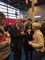 Alain Absire (Sofia) - La Marche des auteurs - Salon du Livre de Paris 2015.jpg