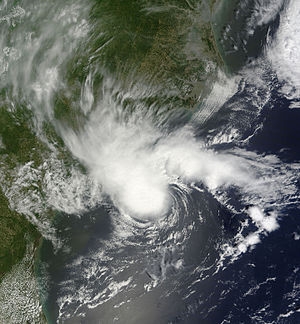 2012 Atlantic hurricane season - Image: Alberto May 19 2012 1610Z