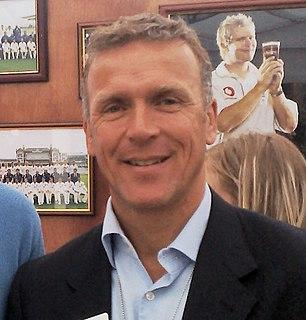 Alec Stewart Cricket player of England.