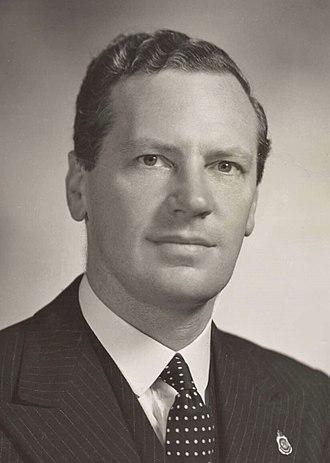 Alick Downer - Downer in 1950.