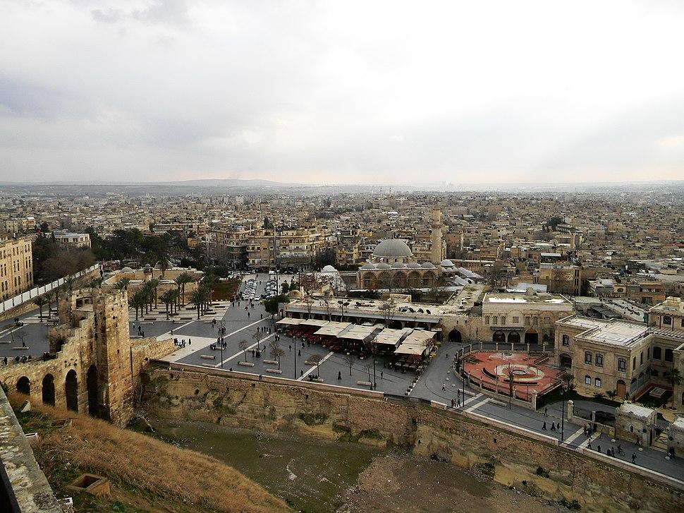 Aleppo skyline 2011-01-08 (02)