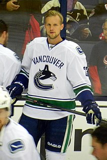 Alexander Edler Swedish ice hockey player