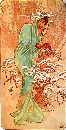 Winter - 1896 - Alphonse Mucha