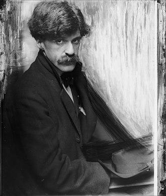 Alfred Stieglitz - Alfred Stieglitz in 1902 by Gertrude Käsebier