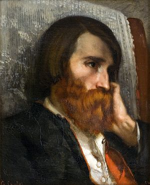 Alfred Bruyas - Portrait of Alfred Bruyas, Gustave Courbet, 1854
