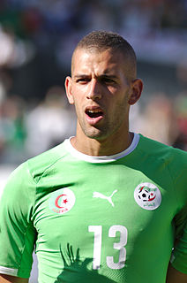 Islam Slimani Algerian footballer