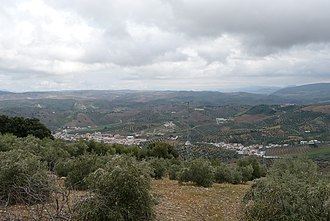 Battle of Lauro - The battle probably took place in the mountainous hinterland of Hispania Ulterior. Pictured is the area around Algámitas, not far from Lora de Estepa.