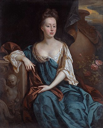 Belton House - Alice Brownlow, née Sherard (1659–1721) by John Riley