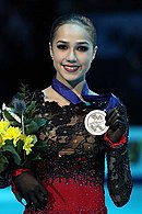 Alina Zagitova at the European Championships 2019 - Awarding ceremony.jpg