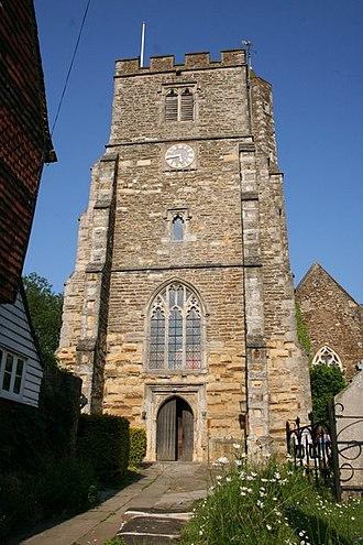 Staplehurst - Image: All Saints' church, Staplehurst geograph.org.uk 188892