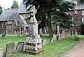All Saints Church, Hilgay, Norfolk - Churchyard - geograph.org.uk - 886270.jpg