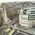 All Souls Church, Langham place and BBC Broadcasting House seen from The Heights... (17145644036).jpg