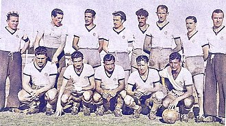 All Boys - The 1946 squad which obtained the Primera Amateur title that year.