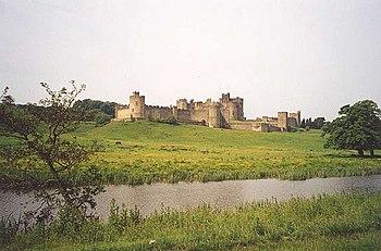 El Castillo de Alnwick.