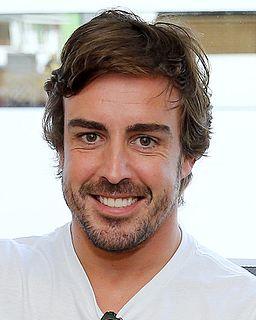 Fernando Alonso Spanish racing driver