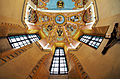 Altar ceiling of St. George's Chapel, Ljubljana.jpg