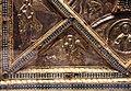 Altare di s. ambrogio, 824-859 ca., lato dx dei maestri delle storie di cristo, angeli e santi che adorano la croce gemmata 09.jpg
