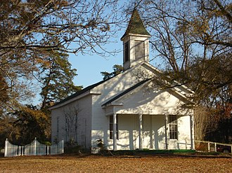 Richland Parish, Louisiana - Image: Alto Presbyterian Church