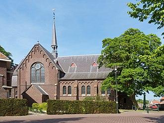 America, Netherlands - America, church: de Rooms-Katholieke parochiekerk Sint Jozef