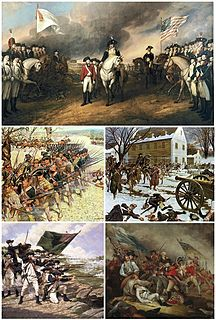 American Revolutionary War War between Great Britain and the Thirteen Colonies, which won independence as the United States of America