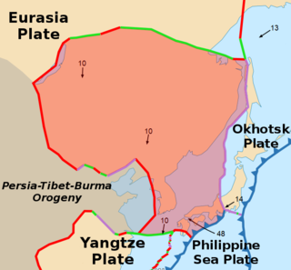 Amurian Plate A minor tectonic plate in eastern Asia