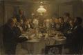 An Artist's Gathering (Viggo Johansen) - Nationalmuseum - 18608.tif