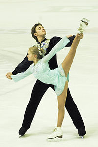 Anastasia Martiusheva and Alexei Rogonov, first place on 43. Golden Spin of Zagreb.jpg